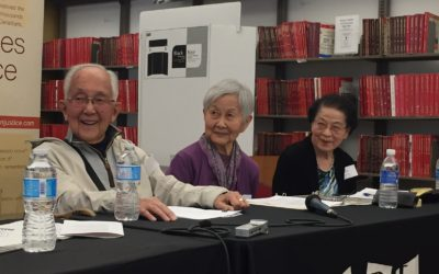 Memories of Dispossession and Internment Panel