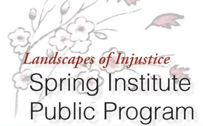 2017 Spring Institute Public Day -BUS REGISTRATION DEADLINE EXTENDED