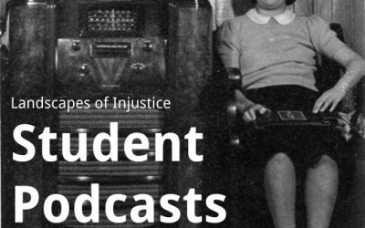 Students go to the archive for podcasts on the dispossession of Japanese Canadians