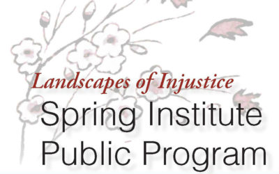 2017 Spring Institute Public Day -BUS REGISTRATION DEADLINE EXTENDED