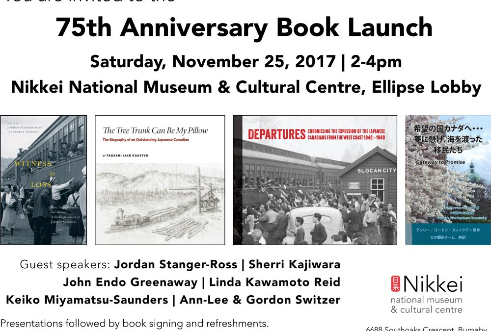 75th Anniversary Book Launch – Nikkei National Museum