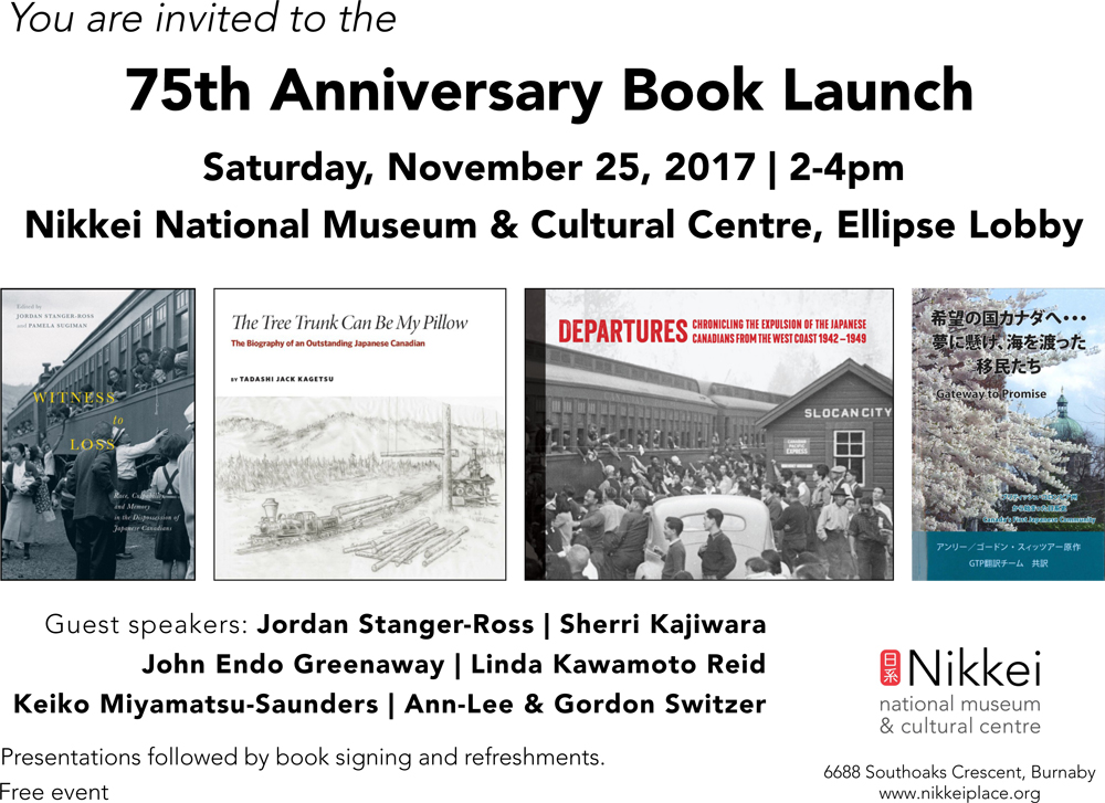 75th Anniversary Book Launch - Nikkei National Museum - Landscapes ...