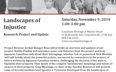 Coquitlam Heritage at Mackin House – LOI presentation