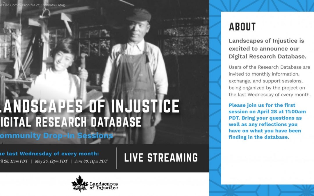 DIGITAL RESEARCH DATABASE- Landscapes of Injustice